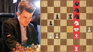 Highest Rated Man vs Highest Rated Woman pt. 2 | Carlsen vs Hou Yifan | Grenke Chess Classic 2018.