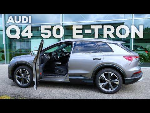 New Audi Q4 50 e-Tron 2021