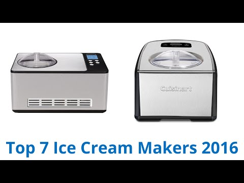 7 Best Ice Cream Makers 2015