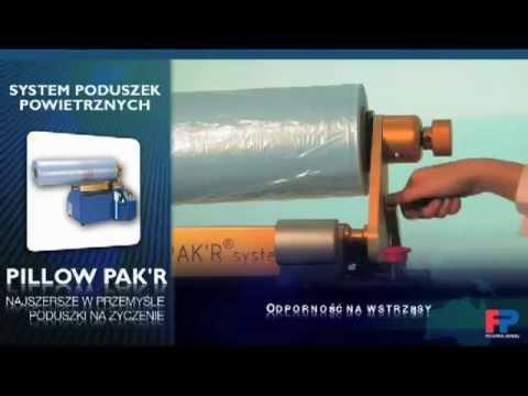 Pillow Pakr - maszyna wytwarzająca poduszki wypełnione powietrzem - zdjęcie