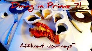 Seven Seas Explorer Dining: Prime 7