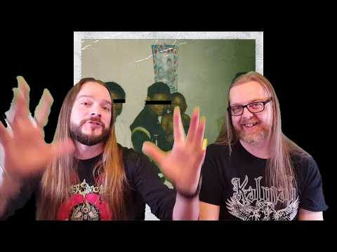 Kendrick Lamar - M.A.A.D. City (METALHEAD REACTION TO HIP HOP)