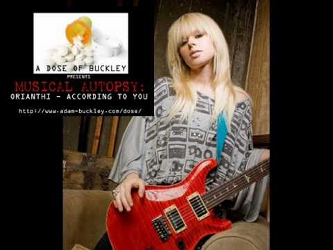 Musical Autopsy – Orianthi – According To You | A Dose of