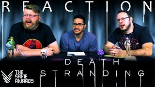 Death Stranding - Cinematic Trailer REACTION!! TGA 2017