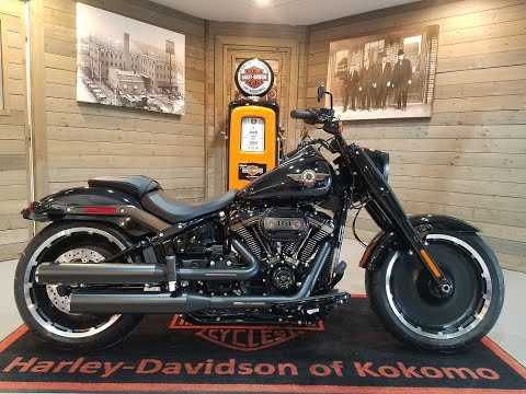 2020 Harley-Davidson Fat Boy® 114 30th Anniversary Limited Edition in Kokomo, Indiana - Video 1