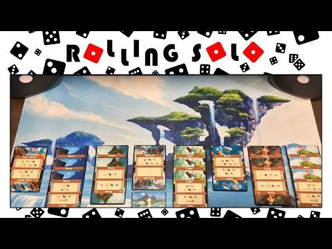 Palm Island | Kickstarter Preview | Solo Setup & Rules Overview