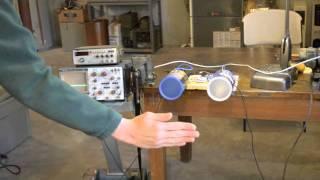 Doppler Radar Explanation and Demo using the coffee can radar