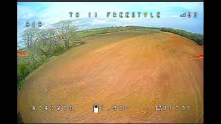 Tinyhawk 2 Freestyle FPV learner practicing.
