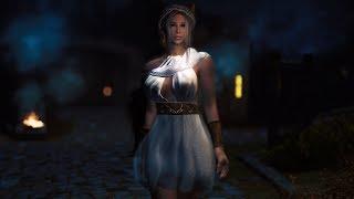 Olympia HDT PE BDO armor for Skyrim LE