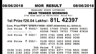 nagaland state lottery result morning - मुफ्त ऑनलाइन
