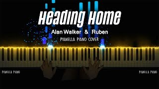Alan Walker & Ruben - Heading Home | Piano Cover by Pianella Piano