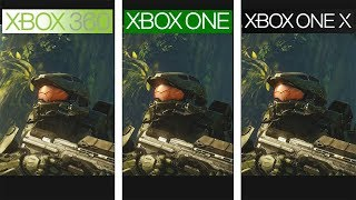 Halo 4 | 360 vs ONE vs ONE X | 4K Graphics Comparison | Comparativa