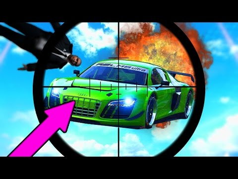 CRAZIEST GTA 5 Snipers Vs Stunters | GTA V Funny Moments