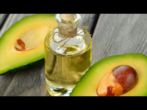 DIY 100% Pure Avocado Oil for hair and skin.