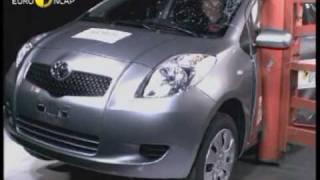 Euro NCAP   Toyota Yaris   2005   Crash test