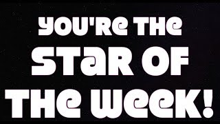 """Brand new Song - """"Star of the week"""""""