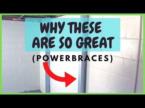 🐊Steel Beam Alternative: PowerBraces | Foundation Repair
