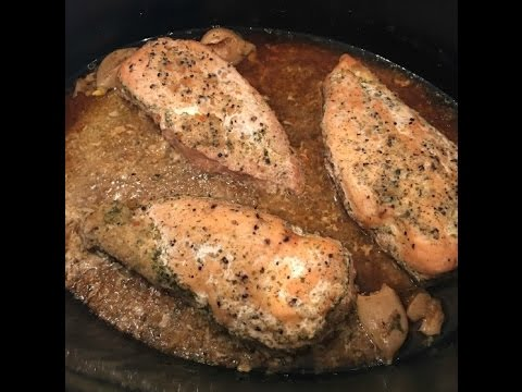Video 21 Day Fix Garlic Chicken in the Crock Pot
