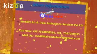 Fast Air Ambulance Service in Kolkata with MD Doctor