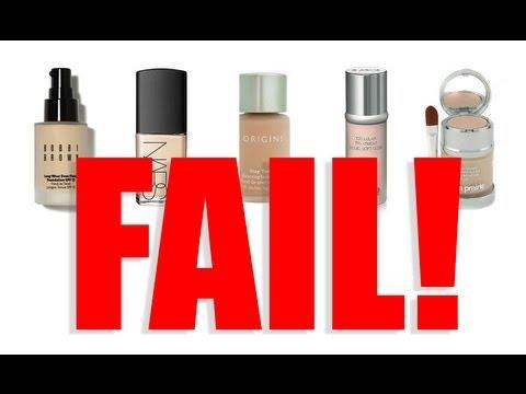 FAIL! WORST HIGH END FOUNDATIONS!