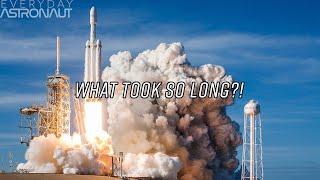 Entenda o foguete Falcon Heavy