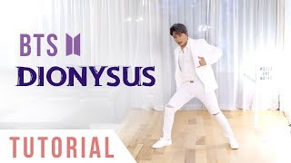 BTS - 'Dionysus' Dance Tutorial (Explanation + Mirrored) | Ellen and Brian