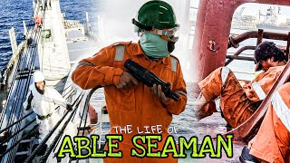 ABLE BODIED SEAMAN | Life At Sea | Life Of Seafarer | Seaman Vlog
