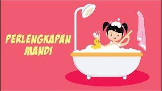 Belajar Mengenal Nama-nama Perlengkapan Mandi Bagian 1 | Bunbun Learning Toiletries