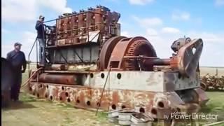 Big old diesel engine startup compilation A2zcar