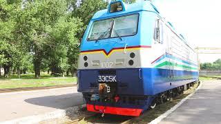 3ЭС5К для Узбекистанской железной дороги