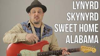 "How to Play ""Sweet Home Alabama"" on Guitar - Lynyrd Skynyrd Guitar Tutorial"