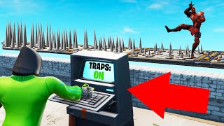 HACK This DEATHRUN To DEFEAT THE ENEMY! (Fortnite)