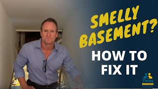 How to Fix a 'Smelly' Basement: Dealing with Sewer Odor and Smells | Part 1