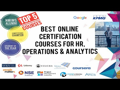 Top Certification Courses in HR   Analytics   Operations   MBA