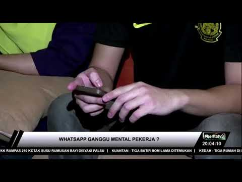 """Berita TV9: Gangguan """"Whatsapp"""""""