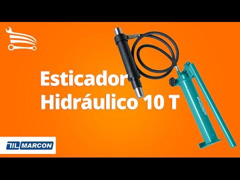 Esticador Hidráulico 10 Toneladas - Video