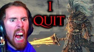 Asmongold ACTUALLY Gives Up Fighting Nameless King Dark Souls 3