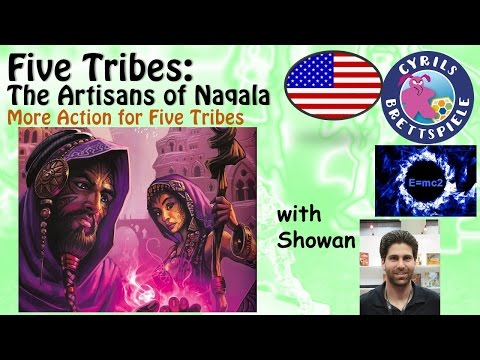 Five Tribes: The Artisans of Naqala review - Showan and Cyrils Brettspiele - (A003)