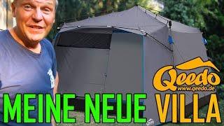 Qeedo Quick Villa 5 - Schneller Aufbau - extrem Platz - 5 Mann Zelt