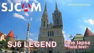 Amazing Sjcam Sj6 Legend Time Lapse - Field Test