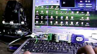 PTZ Camera + RS232 to RS485 + PTZ Controller