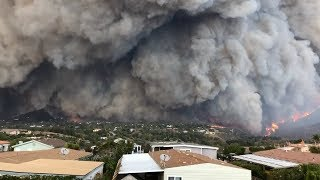 Most Horrific Volcanic Eruption In California!(Looks Like End Of The World)