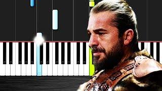 """Diriliş """"Ertuğrul"""" Jenerik Müziği-Piano Tutorial By VN"""