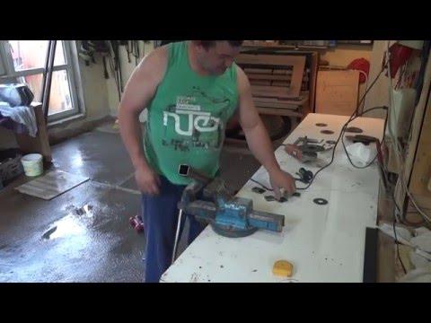 Bau einer Moped Hebebühne Teil 1