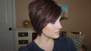 How I Style My Asymmetrical Pixie