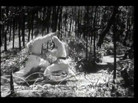 Old footage of Shotokan Karate Self-Defense