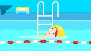 Смарта и чудо сумка - Развивающие мультики - Смарта в бассейне