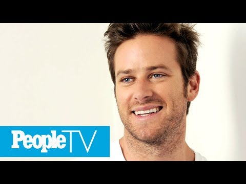 Armie Hammer's Reaction To Being PEOPLE's Sexiest 'Risk Taker' Is Pretty Hilarious   PeopleTV