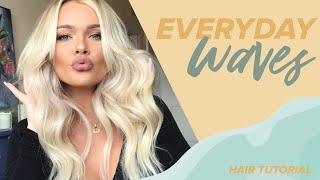 Everyday Loose Waves Hair Tutorial | Heather Kirk