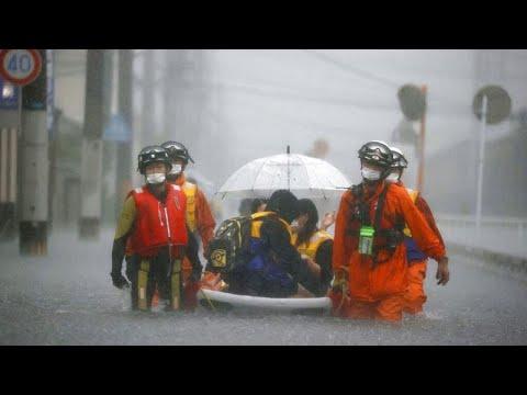 Ιαπωνία: Καταστροφικές πλημμύρες μετά από ισχυρές βροχοπτώσεις…